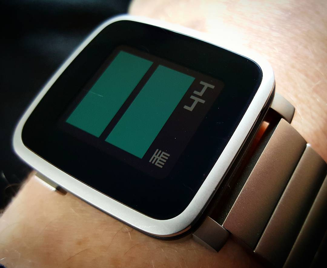 oddttmm - Pebble Watchface on Pebble Time Steel