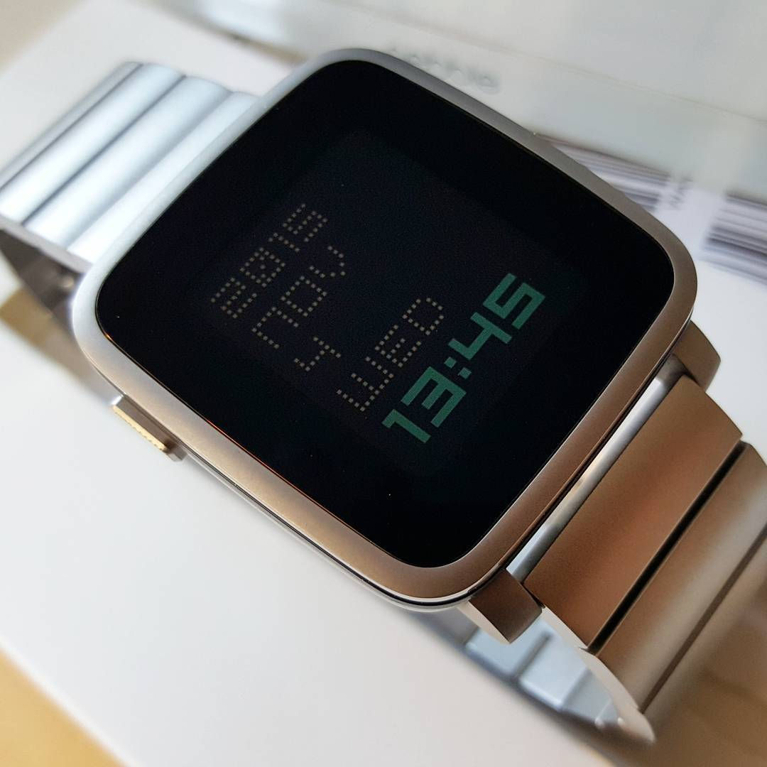txttmm - Pebble Watchface on Pebble Time Steel
