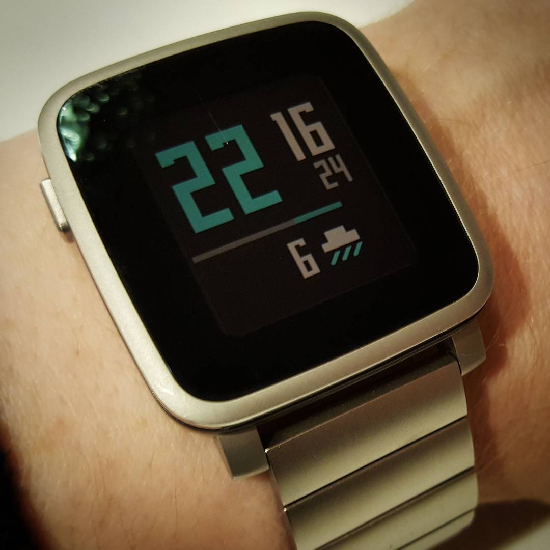 Beclear - Pebble Watchface on Pebble Time Steel