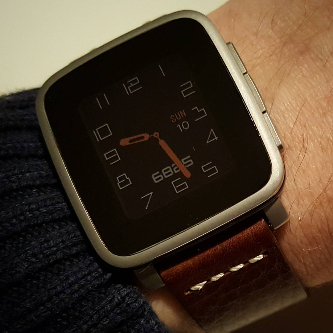 Fourier - Pebble Watchface on Pebble Time Steel