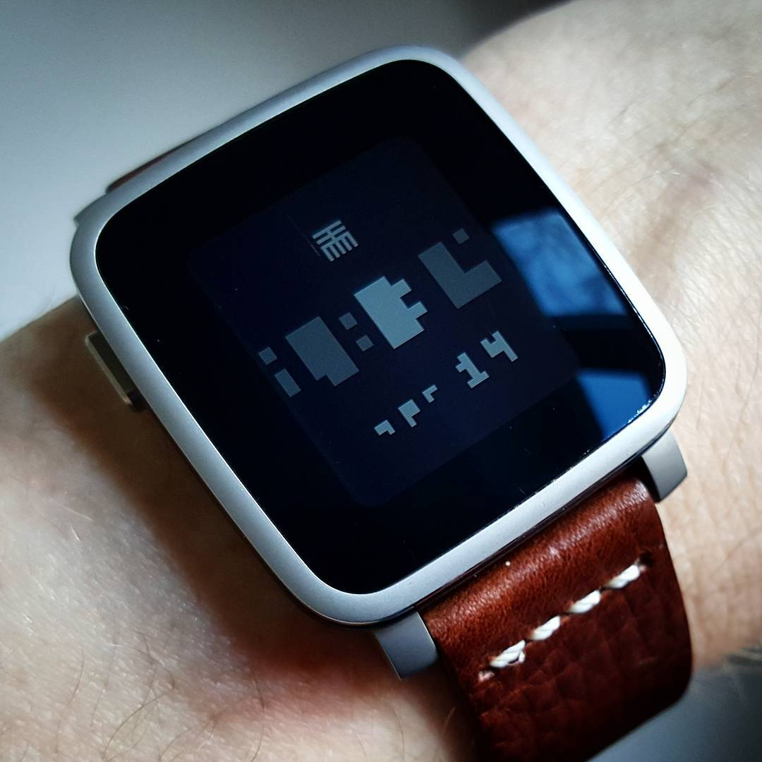 againsttmm - Pebble Watchface on Pebble Time Steel