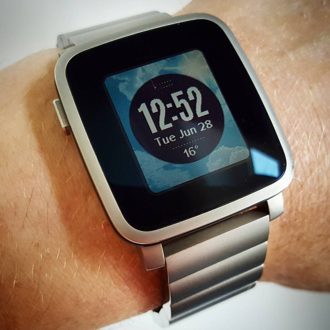Love Weather - Pebble Watchface on Pebble Time Steel