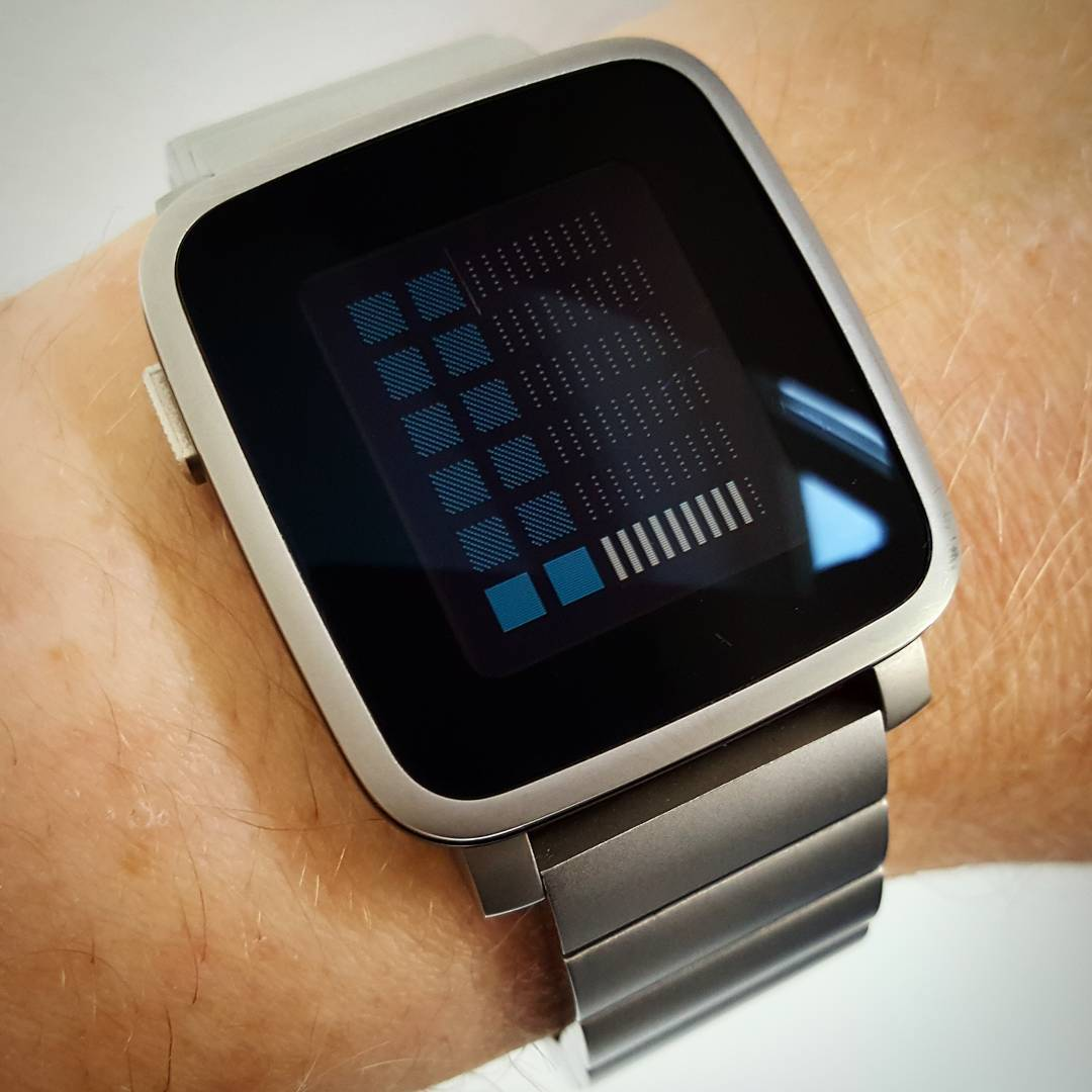 ttmm1260 - Pebble Watchface on Pebble Time Steel