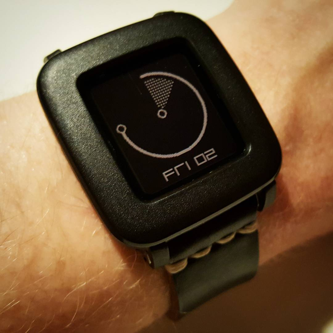 Mason - Pebble Watchface on Pebble Time Steel