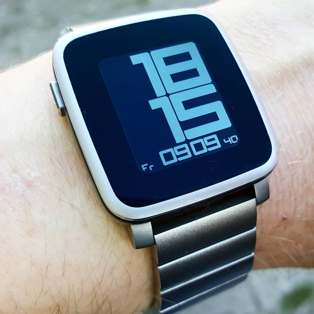 Another Revolution - Pebble Watchface on Pebble Time Steel