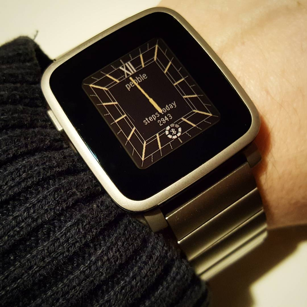 Timeless - Pebble Watchface on Pebble Time Steel