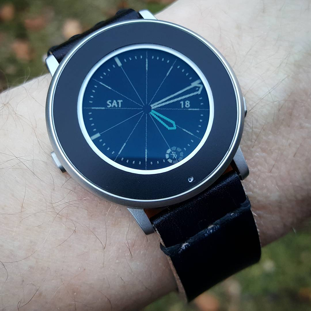 Timeless Radial - Pebble Watchface on Pebble Time Round