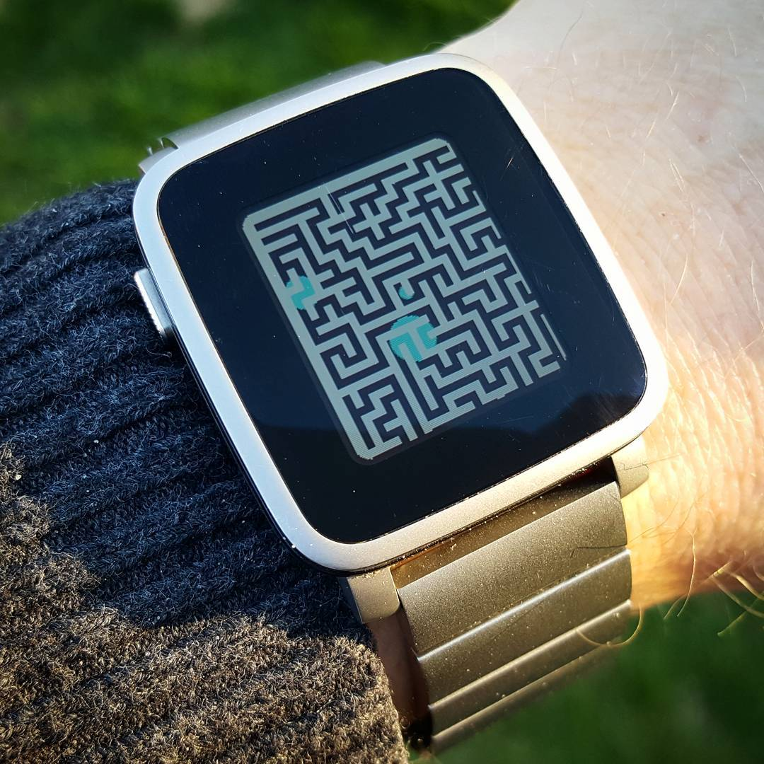 Illusion - Pebble Watchface on Pebble Time Steel