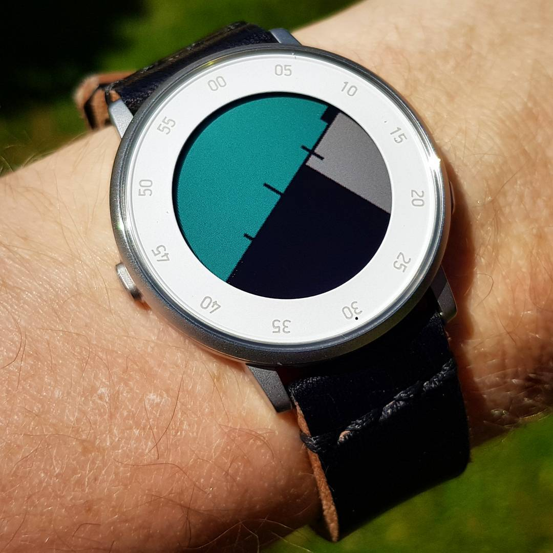 ttmmhorizon - Pebble Watchface on Pebble Time Round