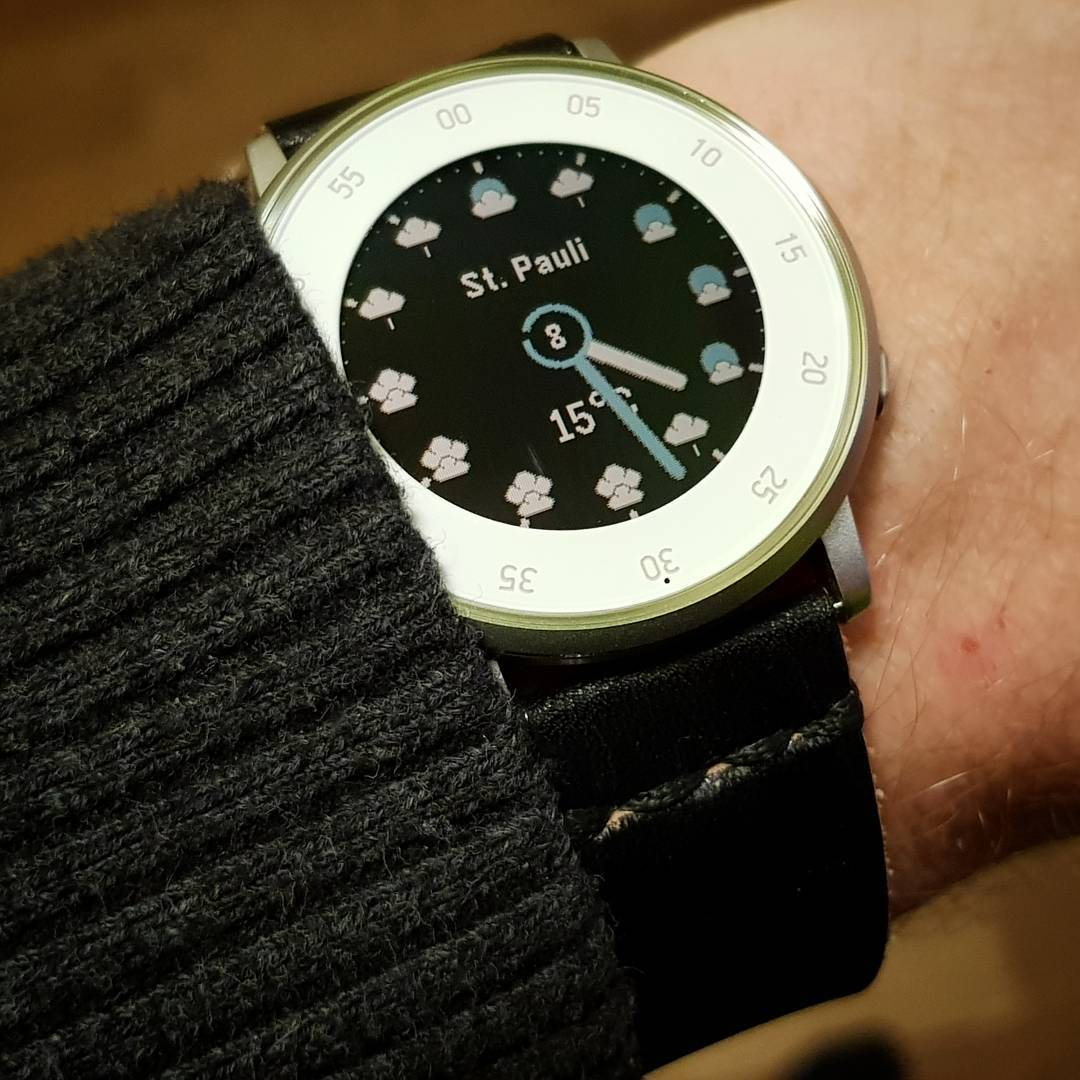 AWW1 Analog WeatherWatch