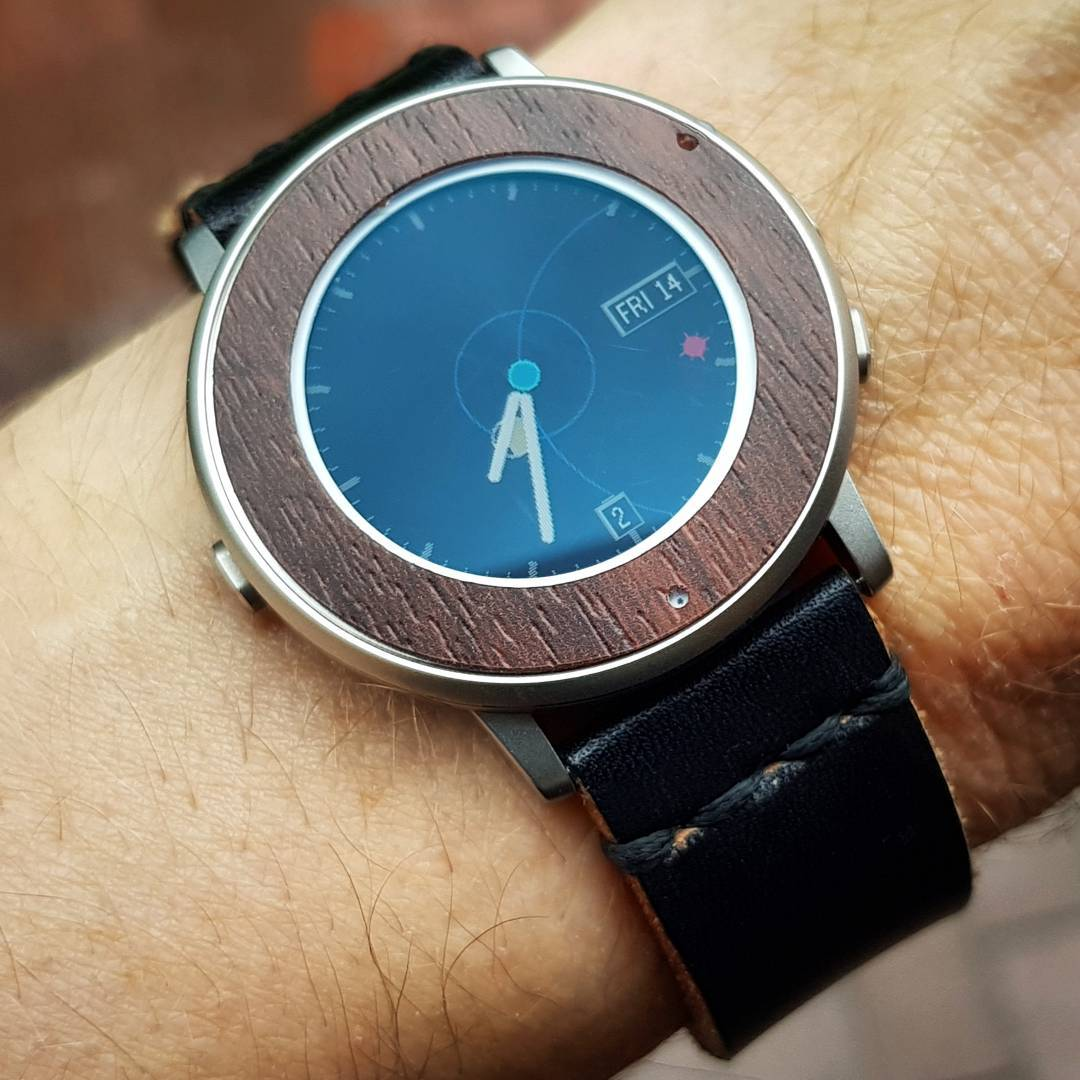 SUN AND MOON - Pebble Watchface on Pebble Time Round