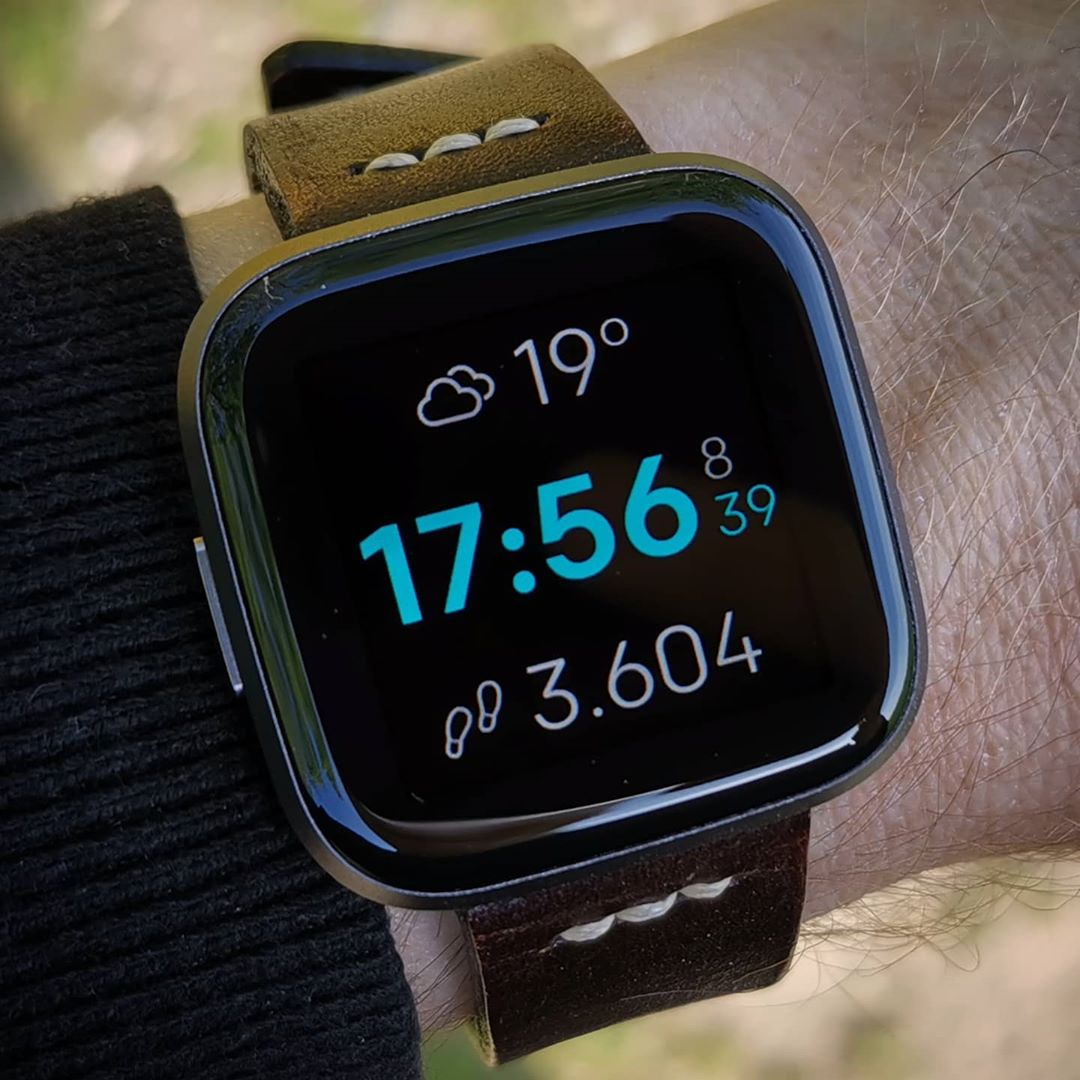 mnml B dP-faces - Fitbit Clockface on Fitbit Versa 2