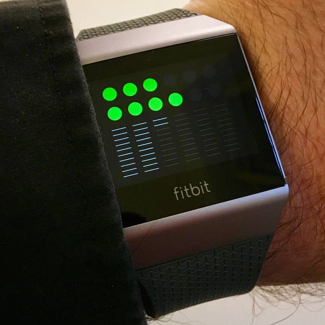 TTMM1260 - Fitbit Clock Face on Fitbit Ionic