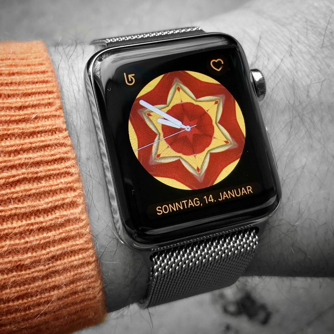 Kaleidoscope - Apple Watchface on Apple Watch Series 3
