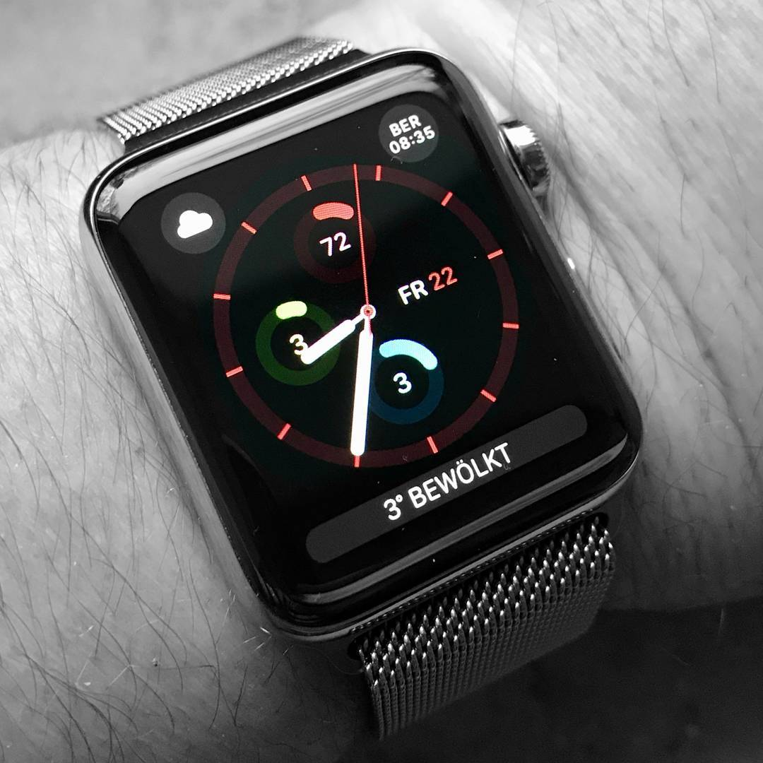 Activity Analog - Apple Watchface on Apple Watch Series 3