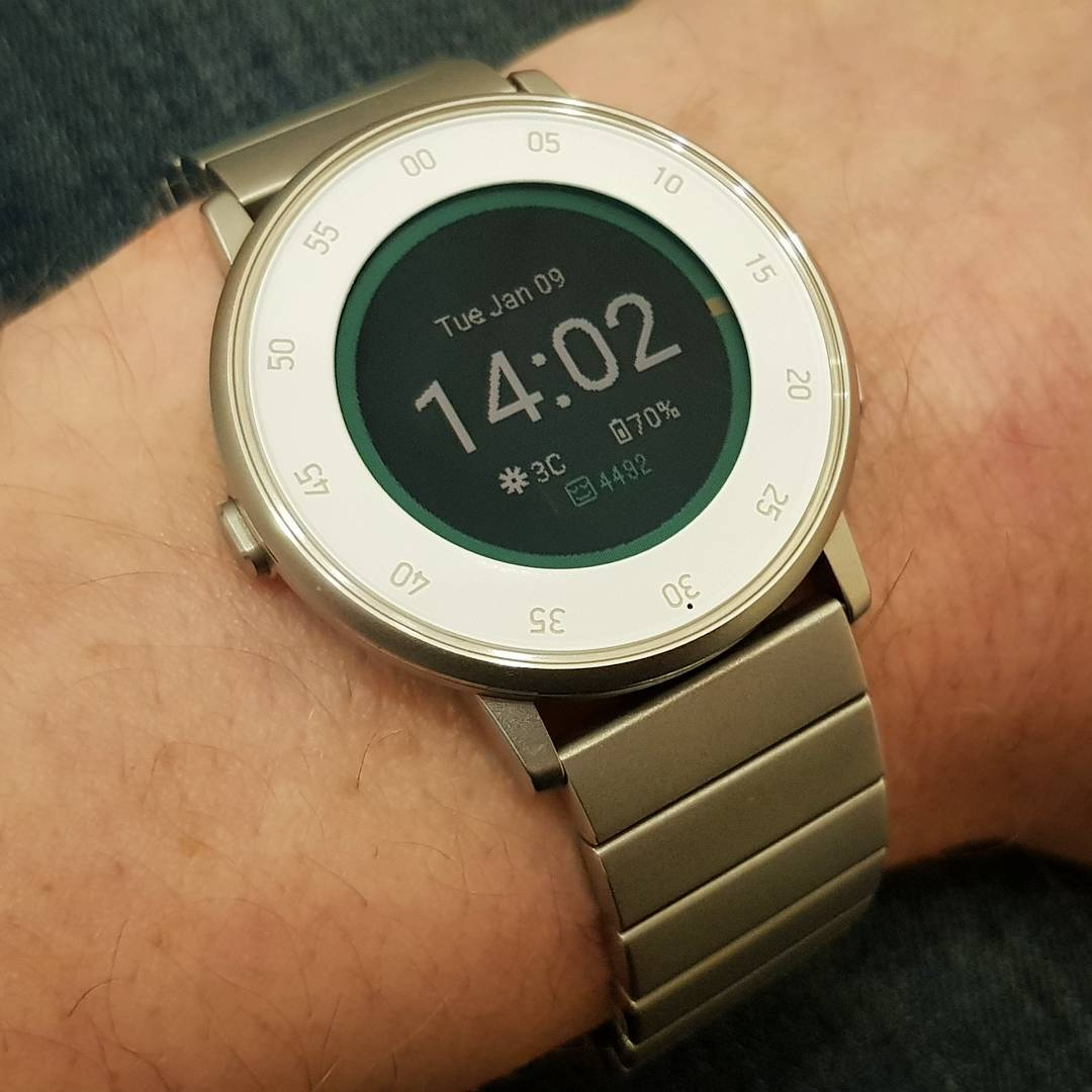 kface - Pebble Watchface on Pebble Time Round