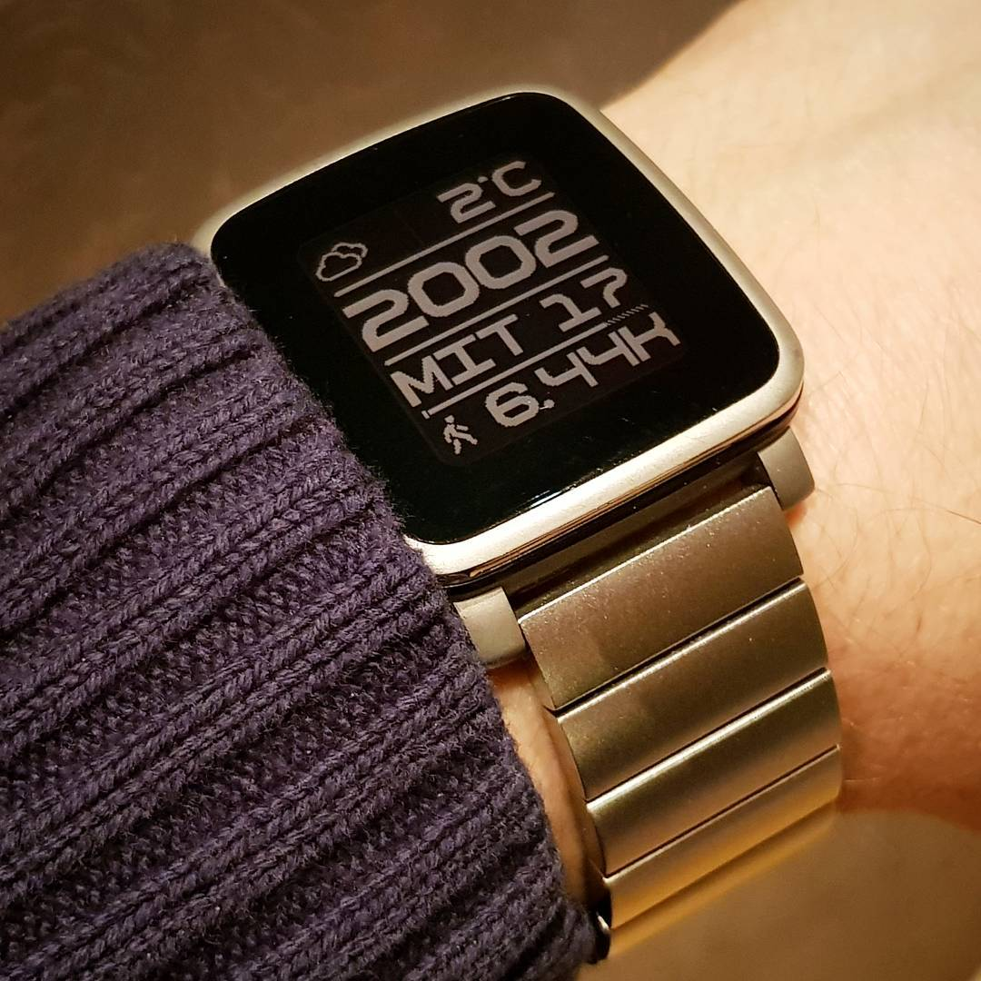 bY - Pebble Watchface on Pebble Time Steel