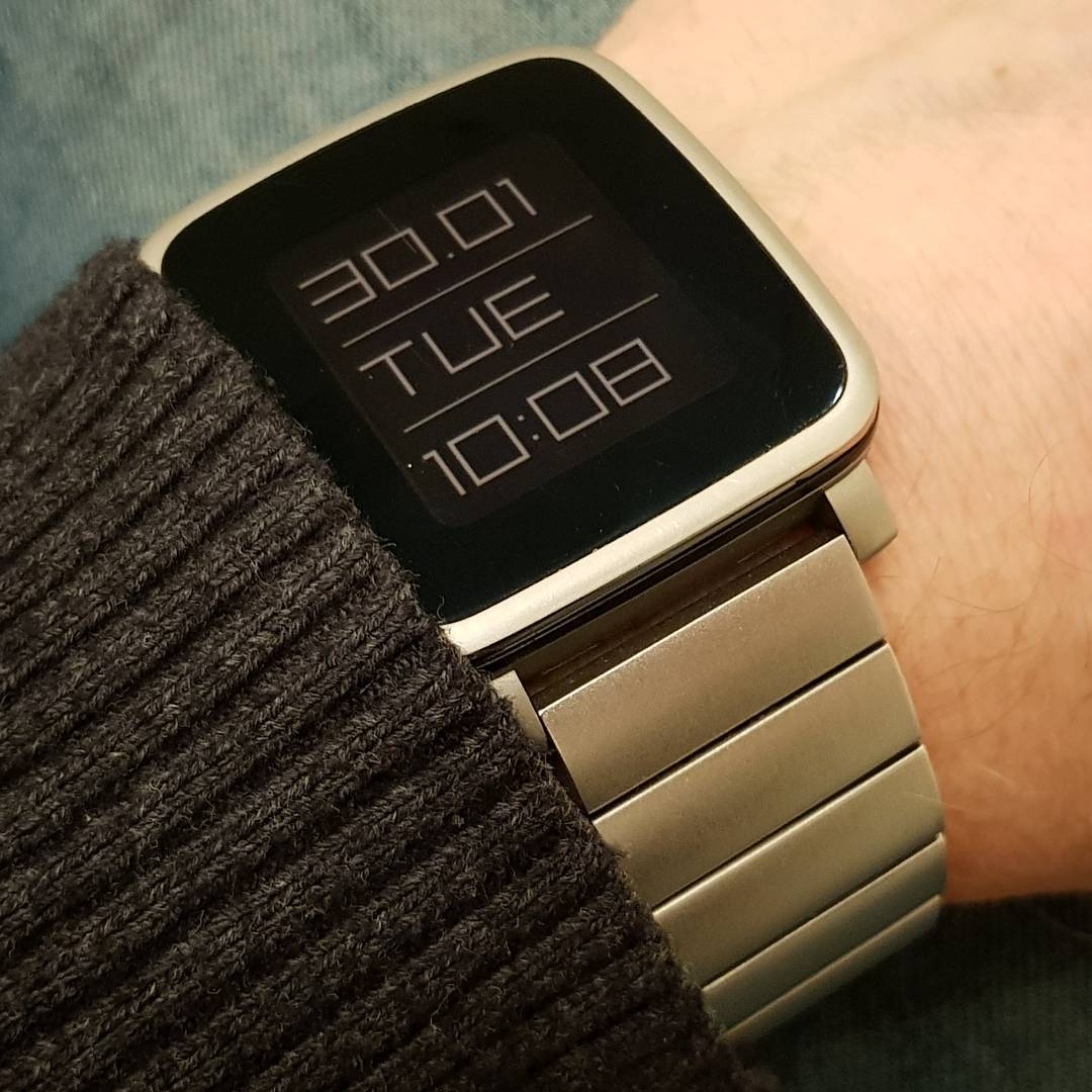 ttmmstylus - Pebble Watchface on Pebble Time Steel