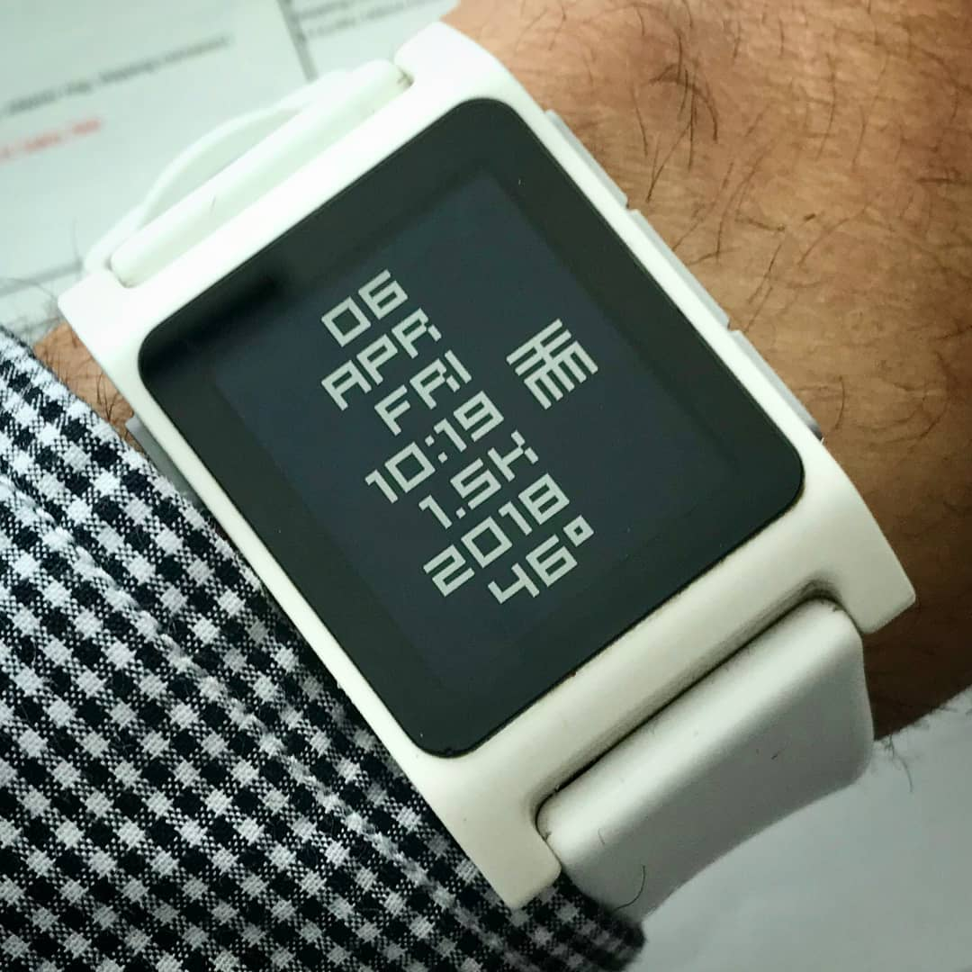 fullttmm - Pebble Watchface on Pebble 2
