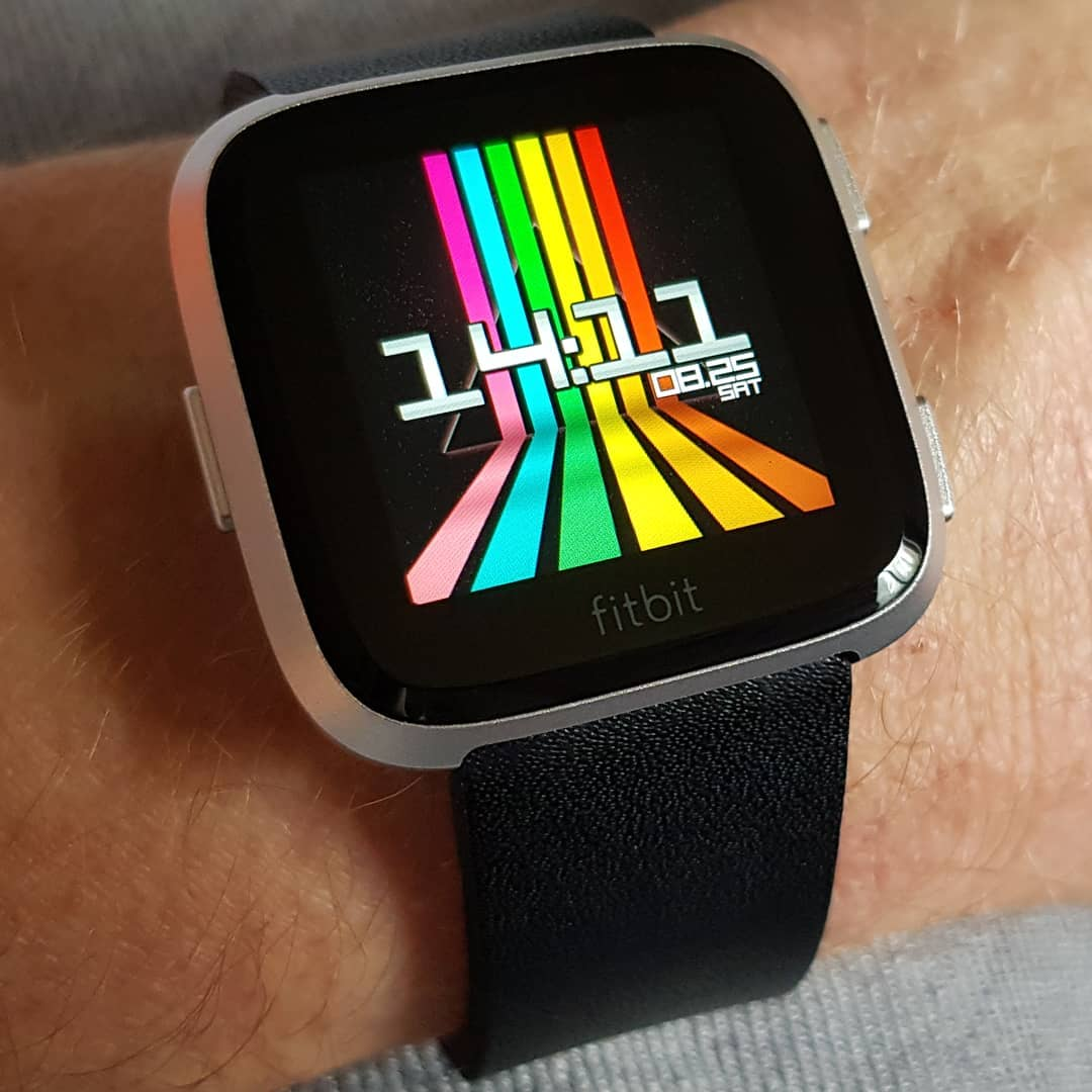 EightySeven - Fitbit Clock Face on Fitbit Versa