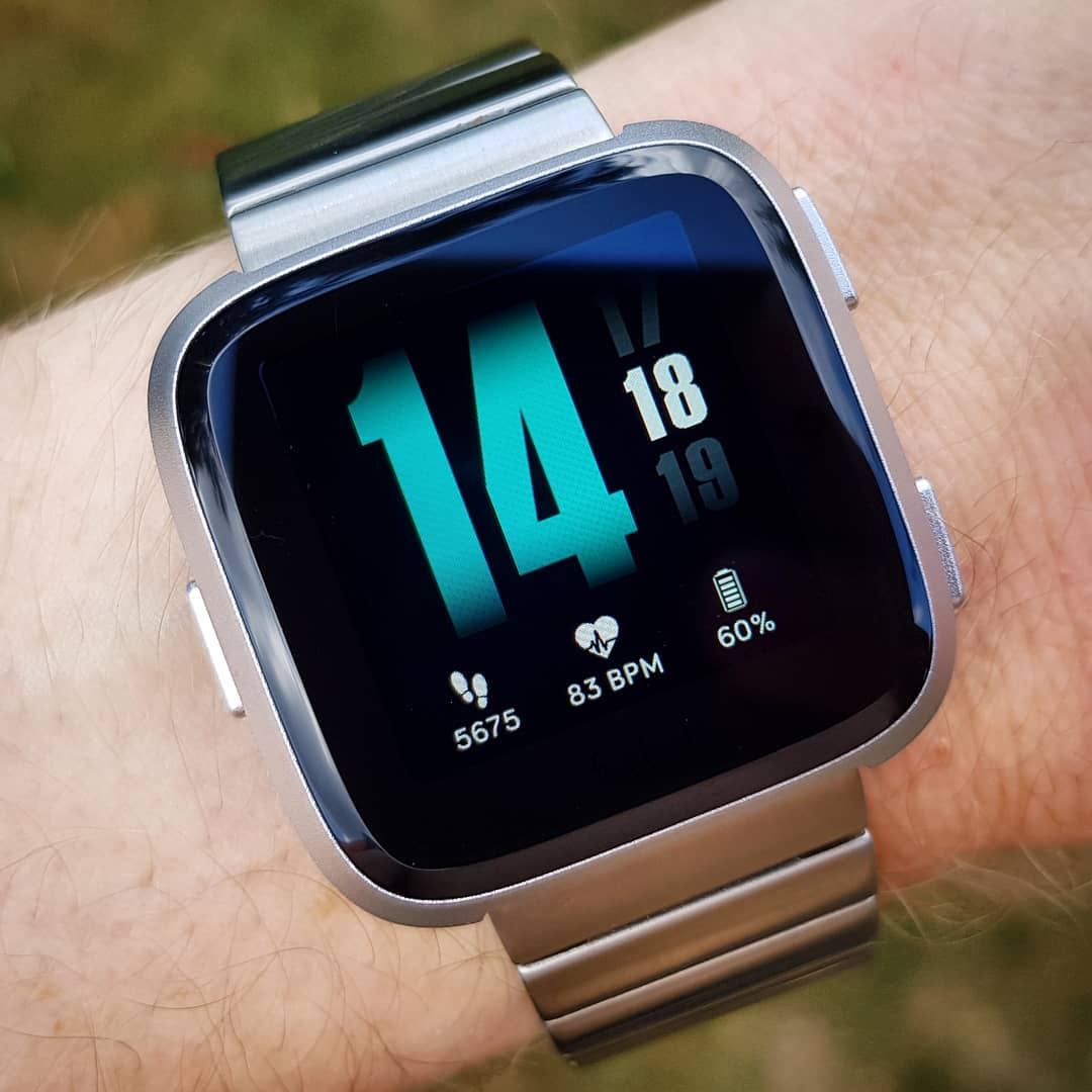 Slider - Fitbit Clock Face on Fitbit Versa