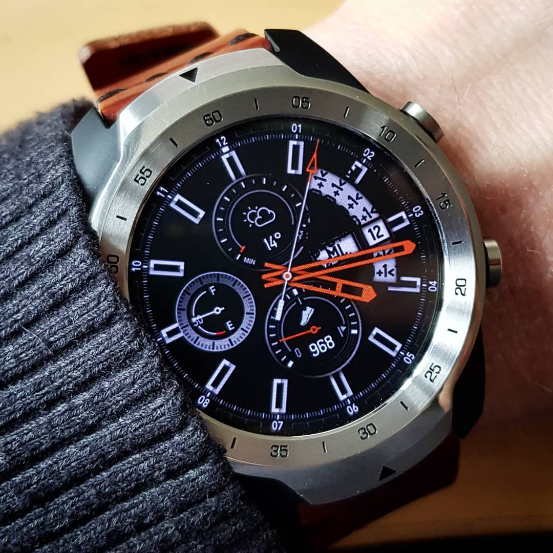 Galaxy watch render chuotmay - Wear OS Watchface on Mobvoi TicWatch Pro