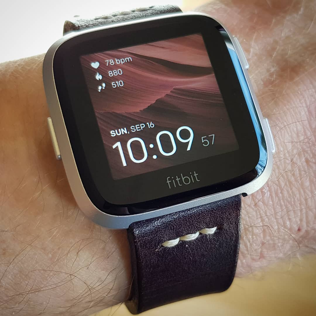 Imagine - Fitbit Clock Face on Fitbit Versa