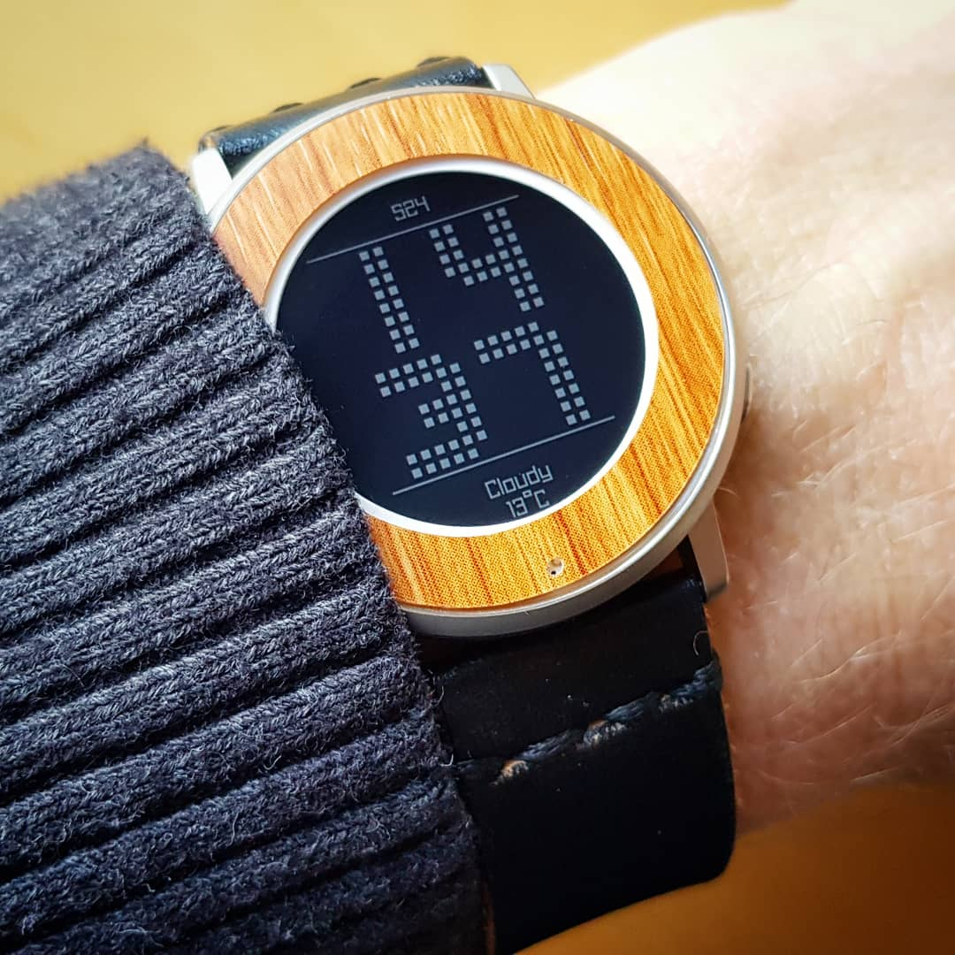 DotStyle - Pebble Watchface on Pebble Time Round
