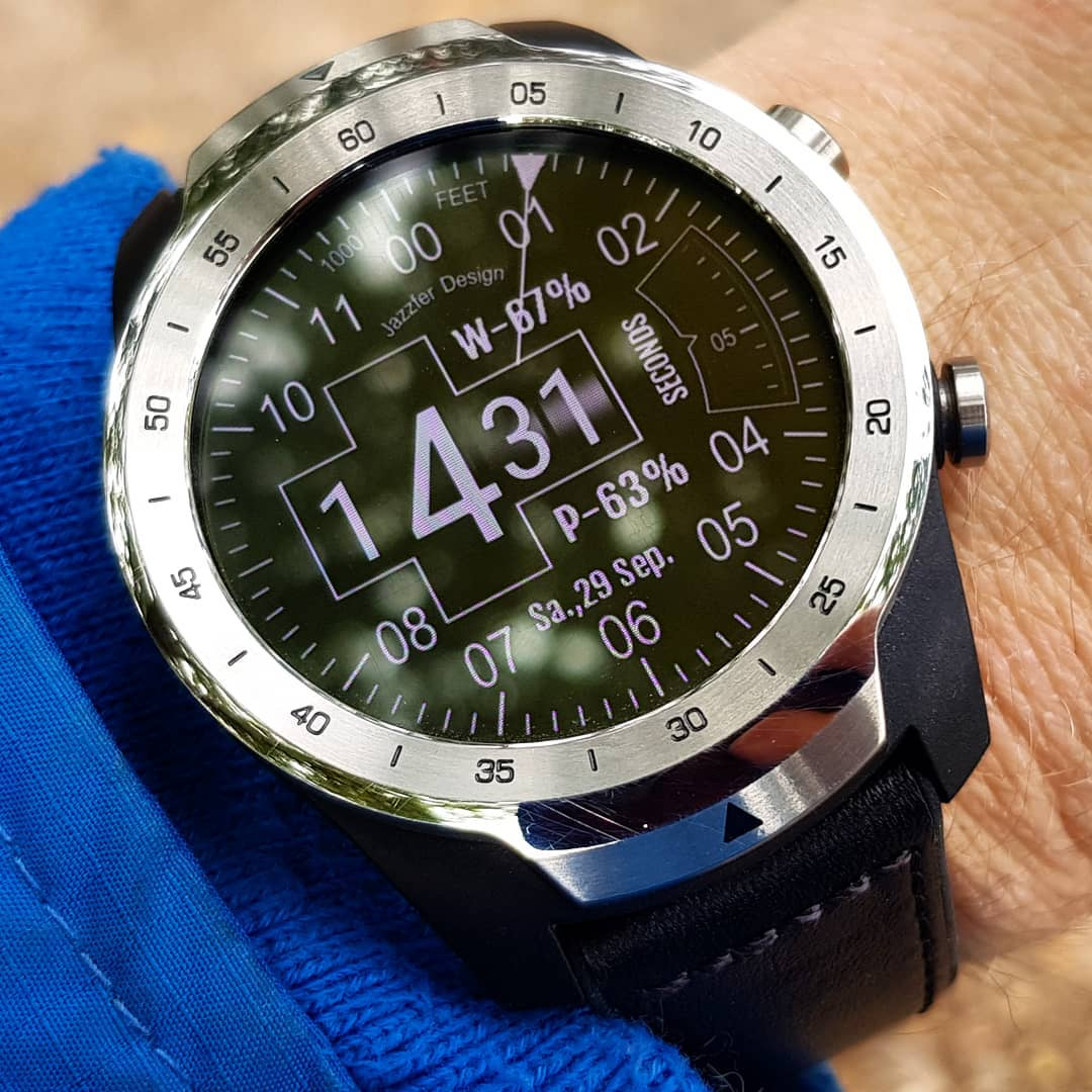 altimetro nuevo - Wear OS Watchface on Mobvoi TicWatch Pro