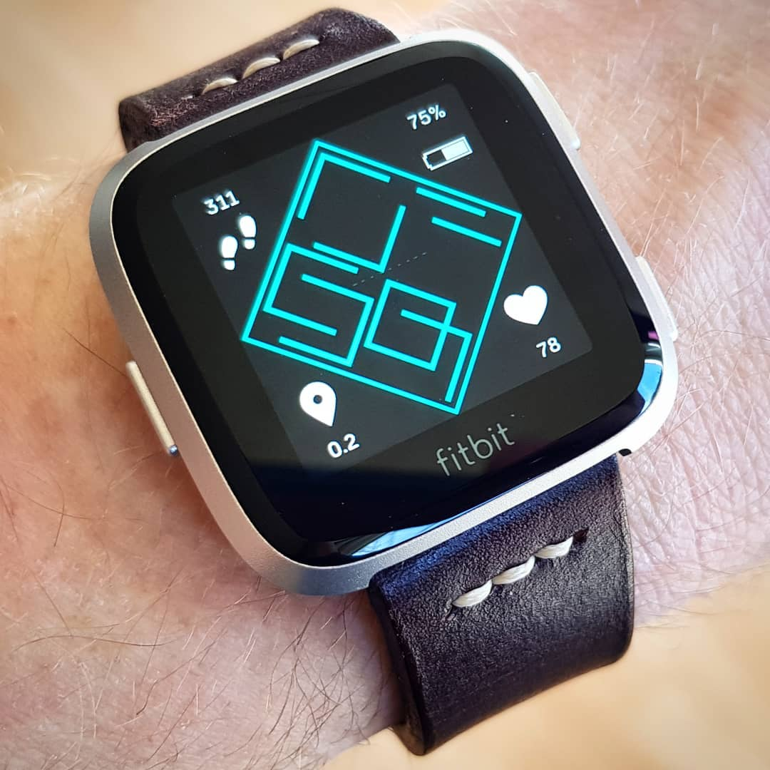 Picasso - Fitbit Clock Face on Fitbit Versa