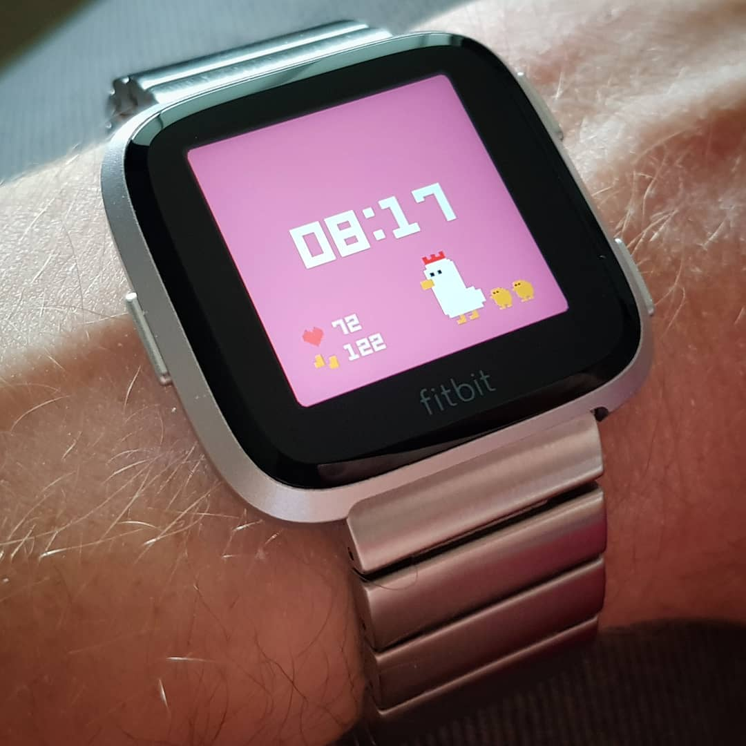 toriwatch - Fitbit Clock Face on Fitbit Versa