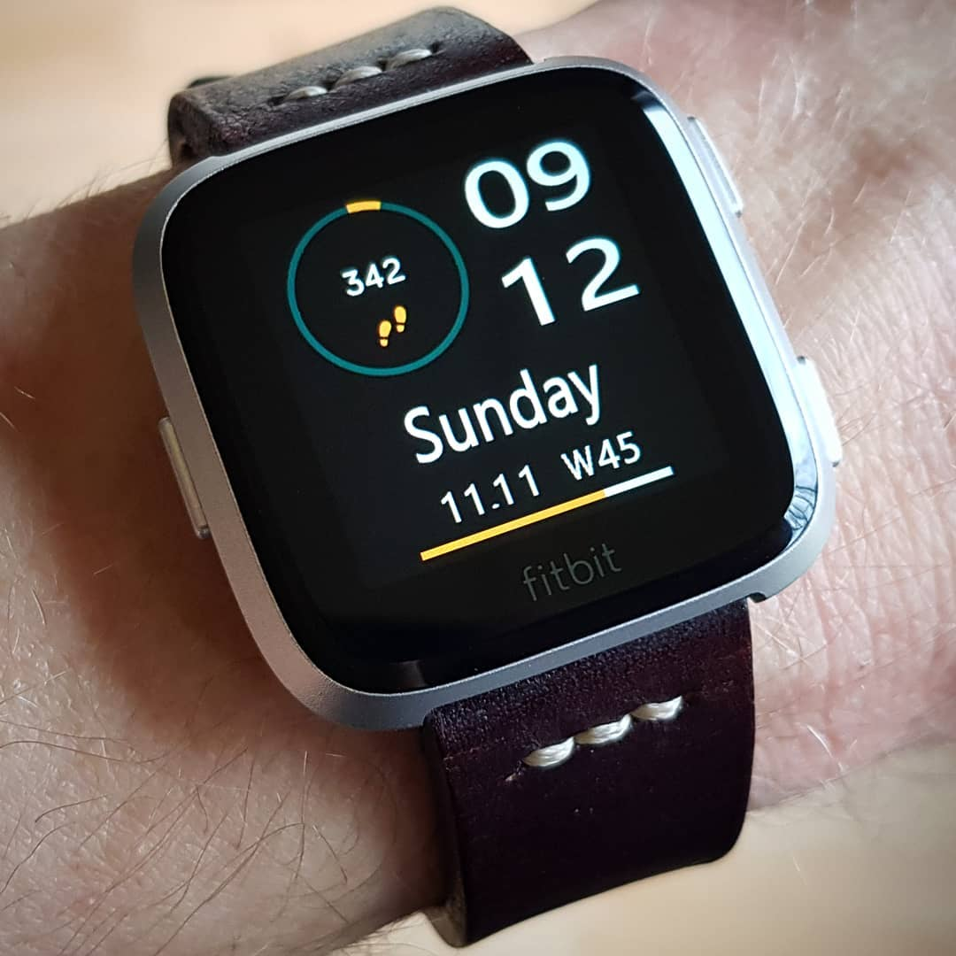 Business Clock - Fitbit Clock Face on Fitbit Versa