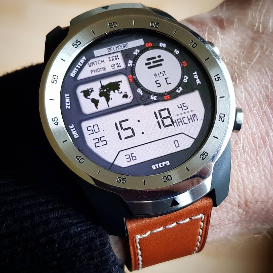 Mobvoi TicWatch Pro November 2018 Top 10 Wear OS Watchfaces