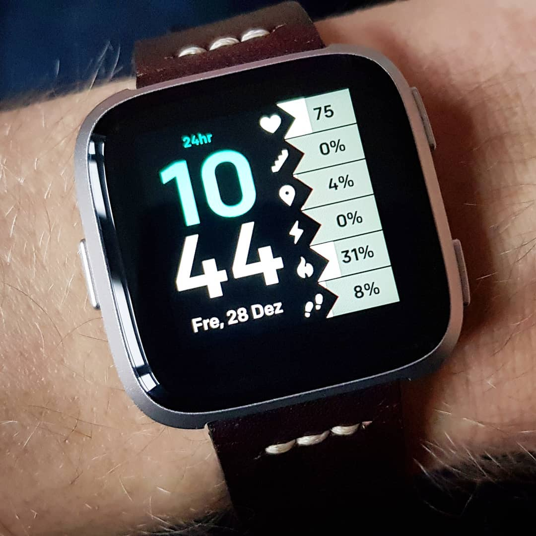 Percentifice - Fitbit Clock Face on Fitbit Versa