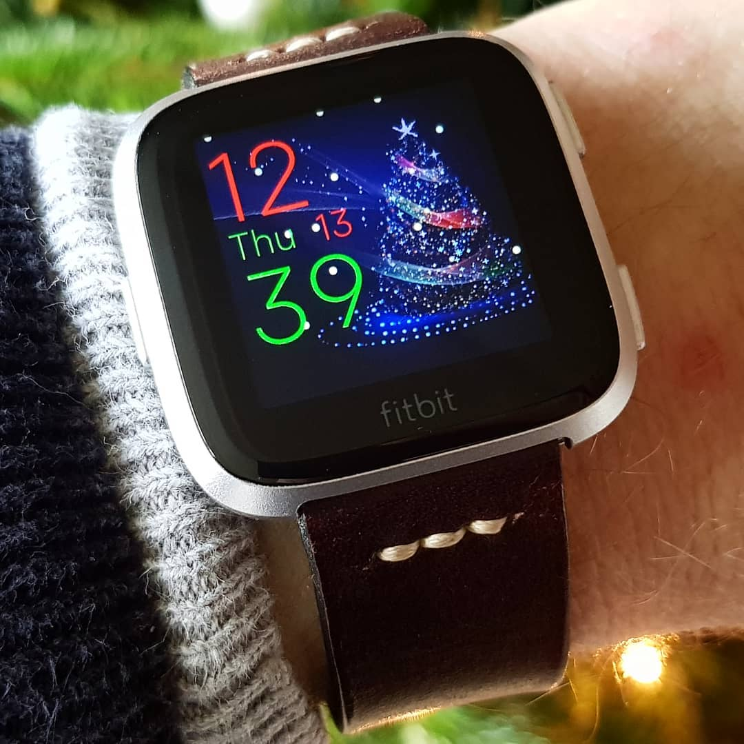 Silent Night - Fitbit Clock Face on Fitbit Versa