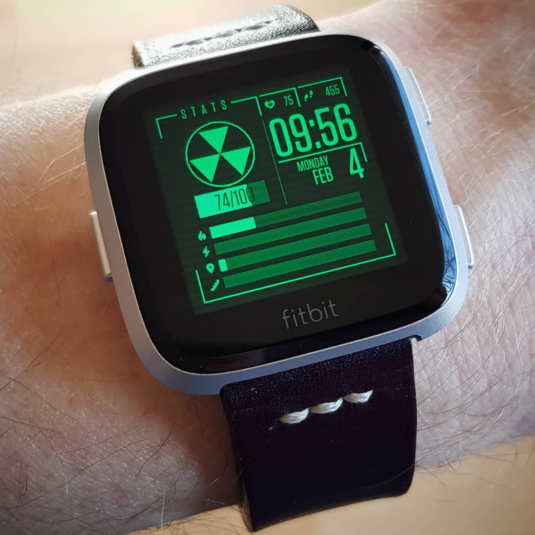 FitBoy - Fitbit Clock Face on Fitbit Versa