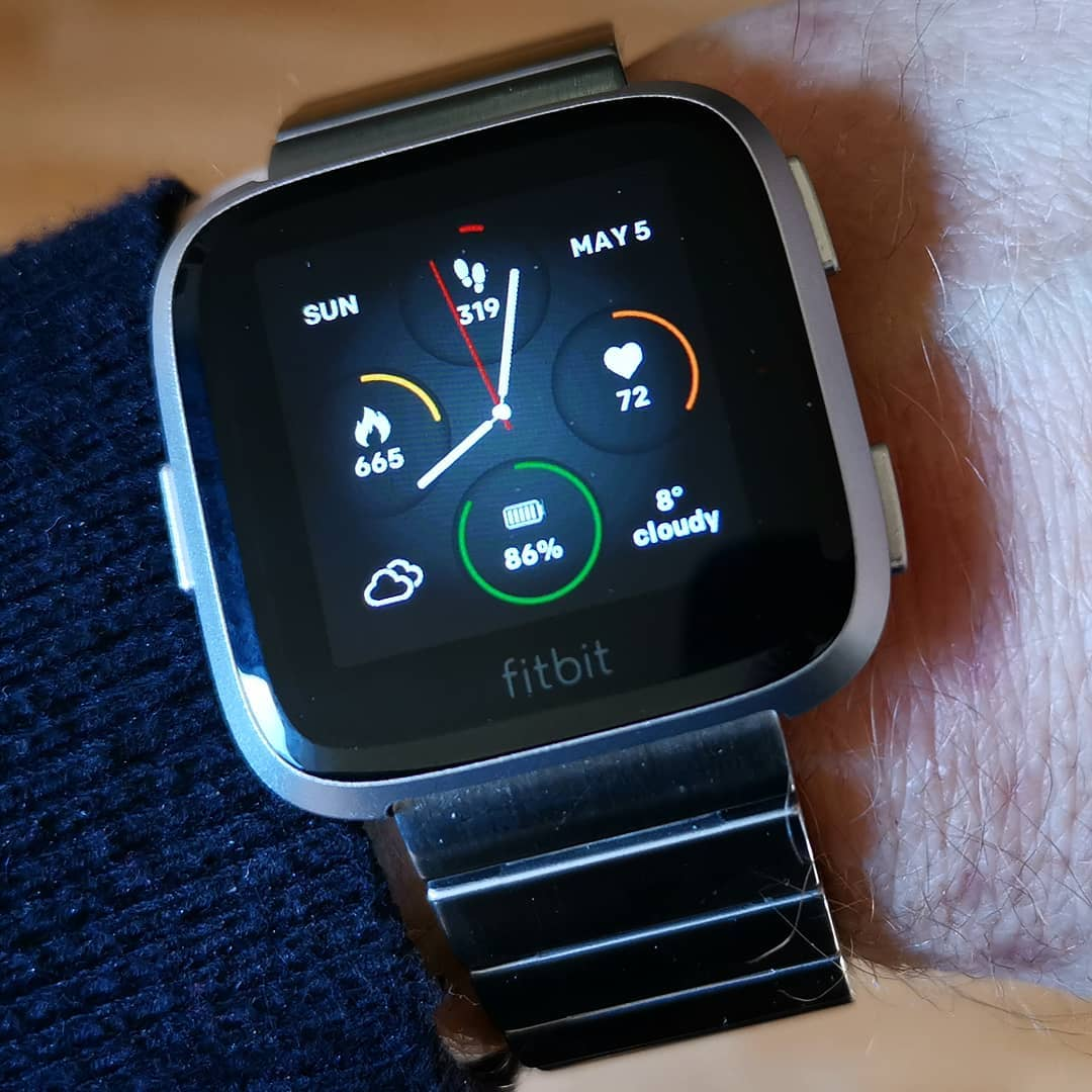 fitbit versa lite watch faces